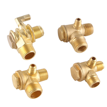 Alloy/Pure copper Threaded Pipe Check Valve Connector Tool For Air Compressor Oil free Air Compressor/Return Valve/Check Valve
