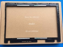 "100% Original 15.4"" Wide Screen with Camera Hole Laptop Replace Case for lenovo Thinkpad T61 Lcd Front Bezel Cover(China)"