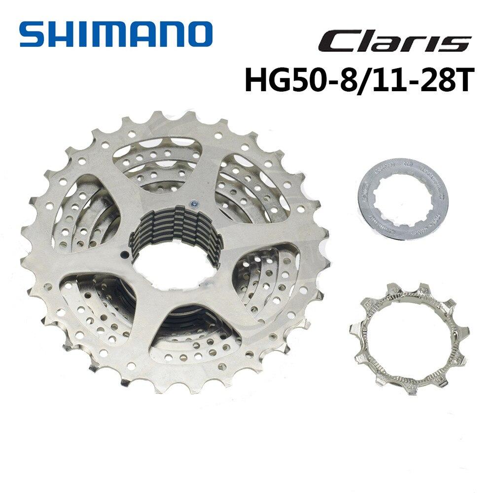 SHIMANO CS-HG50 8-Speed Cassette 11-32T 11-32 Teeth Silver