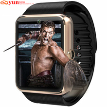 Smartwatch bluetooth smart watch relógio de pulso para apple iphone ios android telefone do relógio inteligente relógio do esporte pk gt08 dz09 f69 u8