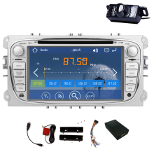 Car Radio For Ford Focus Mondeo Music Logo Camera Autoradio Player win8 Stereo RDS In Deck System GPS Navigation Car DVD SD MAP