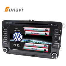 2 Din Car DVD Player For VW GOLF POLO JETTA MK5 MK6 PASSAT B6 SKODA TOURAN With USB GPS BT IPOD FM RDS