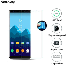 Full Curved Soft Edge Nano TPU Film sFor Samsung Galaxy Note 8 Screen Protector Soft Tempered Glass For Samsung Galaxy Note Film(China)