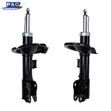 2PC New Front Left and Right Shock Strut Absorber Pair For Mitsubishi Lancer 2008-2011 OEM 72356,72355 Car auto suspension parts(China)