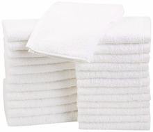 LFH 10pcs/lot Wash Cloth Kitchen Towels 30X30CM Hand Towels Machine Washable Cleaning Rags Wash Cloths for Bathroom