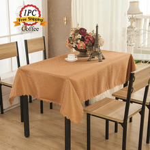 "Wedding Decoration Linen Tablecloth 90""x132"" Rectangular Polyester Damask Jacquard Christmas Decor Table Cloths of Hotel Home"