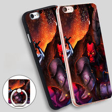 DotA 2 Axe Dazzle e Razor Soft TPU Silicone Phone Case Cover for iPhone 5 SE 5S 6 6S 7 Plus