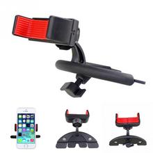 Mini Plastic Car CD Player Slot Mobile Phone Mount Bracket Support Universal PDA GPS Mobile Phone Holder(China)