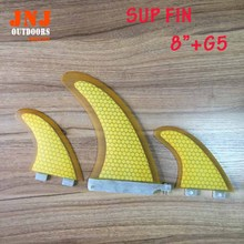 FREE SHIPPING 2016 top selling strongest fiberglass sup stand up paddle board fin centre fin and G5