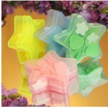 1 x Gift Bath Body Soaps Travel portable Fragrant Flower Petal Soap piece(China)