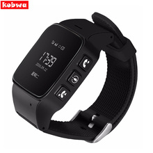 D99 Elderly Smart Watch for Android Google Map SOS Wristwatch Personal GSM GPS LBS Wifi Safety Anti-Lost Locator Watch