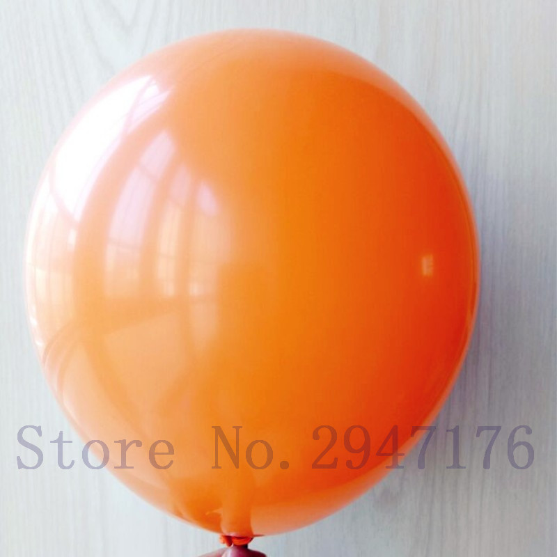 Supply air ball 10 inch orange balloon children birthday decoration helium balloon 50ps latex balloon holiday inflatable balloon(China (Mainland))
