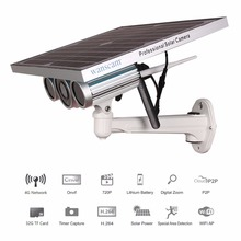 4G 3G Wireless Network Solar Power Battery Powered WiFi IP Camera Starlight IR 100m 720P HD Outdoor GMS SIM Card TD-SCDMA WCDMA