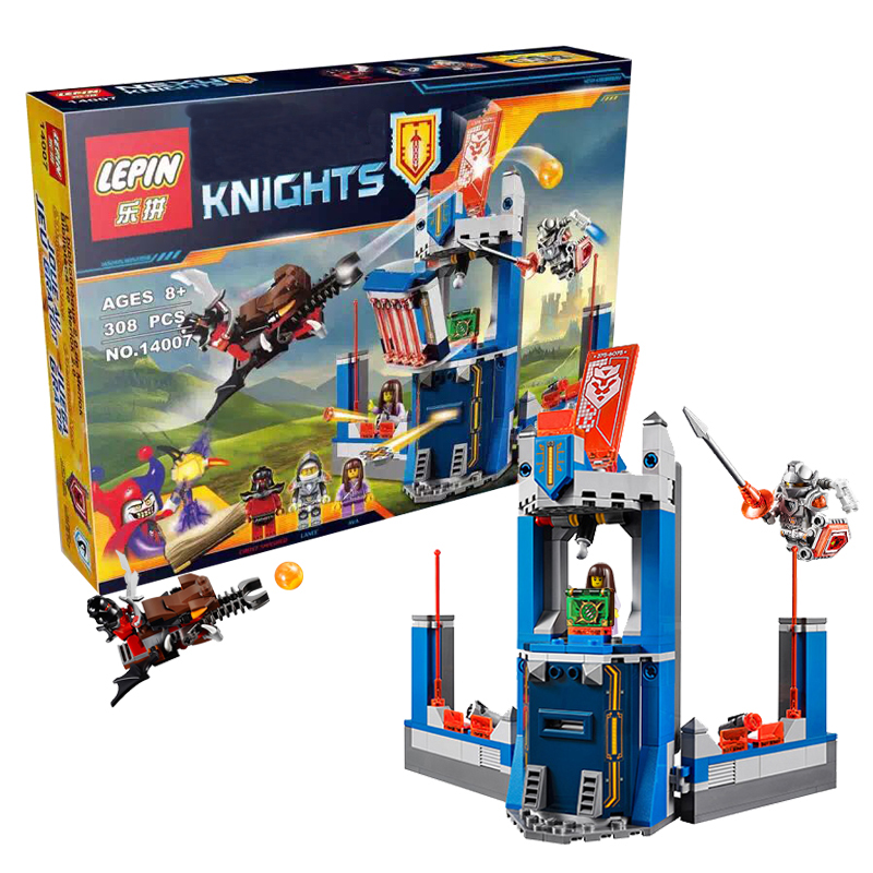 2017 New LEPIN Knights Building Blocks Merloks Library 2.0 Buildable Figures Bricks Toys Compatible Legoe Nexus 70324<br><br>Aliexpress