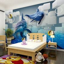 beibehang sea life papel de parede 3d wallpaper for walls 3 d murals backgrounds for kids living room wall decor panels papel(China)