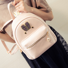 Women Casual Fashion Beauty Backpack Female Rabbit Ears Backpack College Student Satchel Ladies Pretty Schoolbag Travel Package