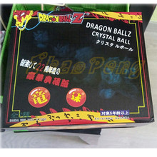 7pcs/lot 3.5cm Dragon Ball Crystal Balls PVC Figures Toys 1~7 star Complete set kid gift