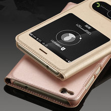 Huawei P8 Lite 2017 Case Leather Flip Mobile Cover Luxury High Quality Capa Coque Mobile Phone Bag Cases Honor 8 Lite Fundas(China)