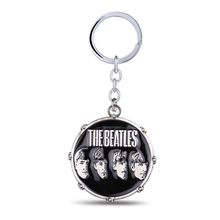 Music Band The Beatles Keychain Key holder Metal Key Rings For Gift Chaveiro Key chain Jewelry for cars YS10887(China)