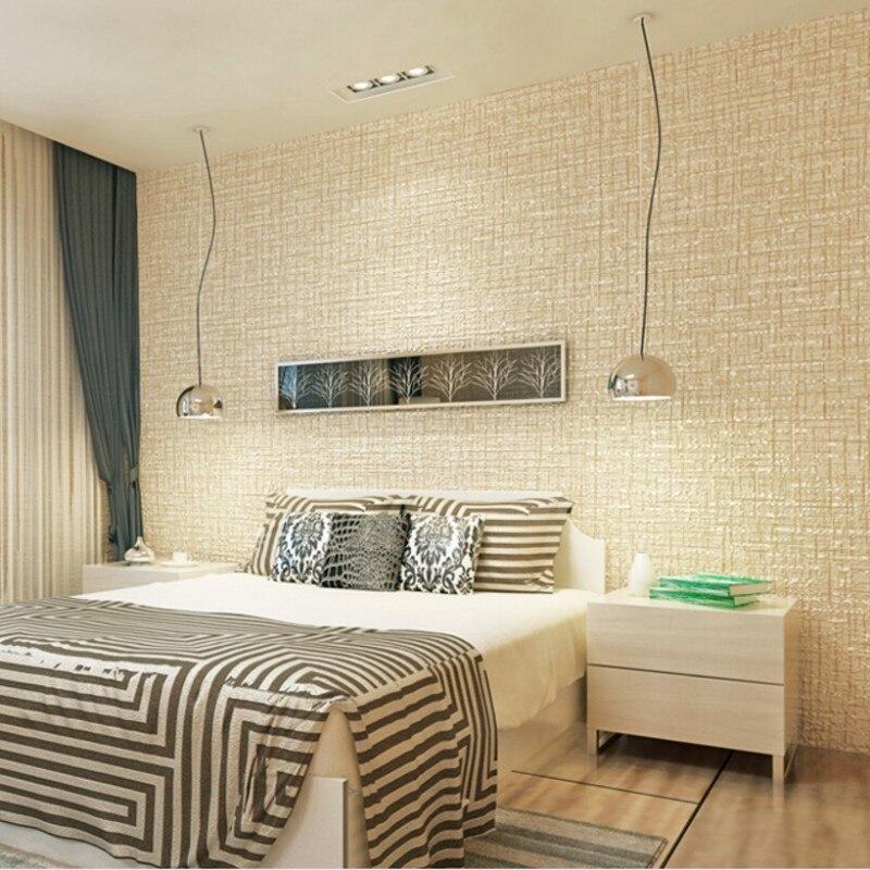 Beibehang Yellow, pink, brown 3D wallpaper 3D Living Room Bedroom Sofa TV Background  Solid color Wallpaper Roll papier peint<br>