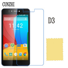 cunzhi 5pcs High Clear LCD Screen Protector For Prestigio Muze C3 / Muze D3 / Grace Q5 Protection Ultra Slim Film(China)