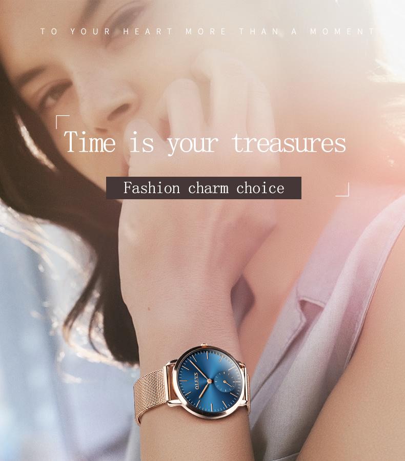 HTB1DQKGSpXXXXagXpXXq6xXFXXXm - OLEVS Luxury Watches Women's Rose Gold Casual Quartz Watch Stainless Steel Watch Water Resistant Clock relojes hombre 2017 saat