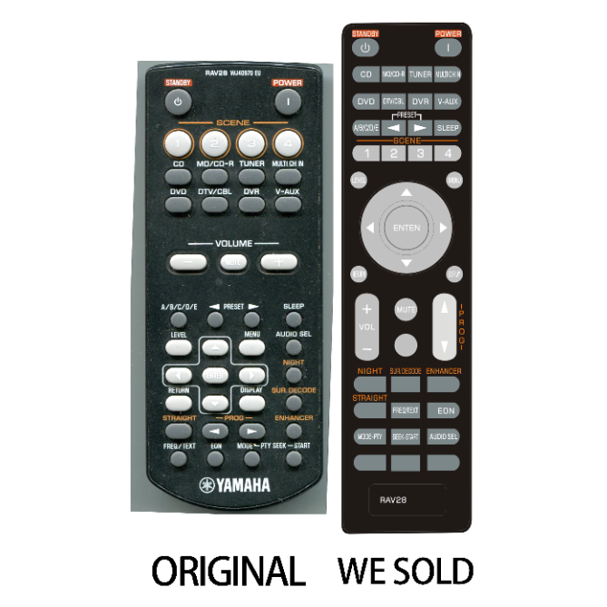 General Remote Replacement Control Fit For HTR-6040B HTR6040B RAV329 RAV-329 WM873800 HTR-6180 HTR6180 WG64630 HTR-5930 For Yamaha AV System