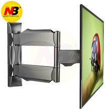 "NB P4 suggested for size 32""-55"" Flat Panel LED LCD TV Wall Mount Full Motion 3 Swing Arms Monitor Holder Frame(China)"