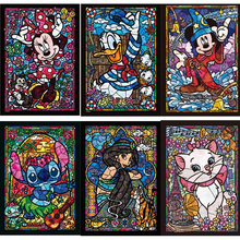 Diy diamond painting cross stitch diamond embroidery children Cartoon princess and Mouse Mouse point diamond mosaic painting