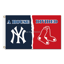 New York Yankees Flag Vs Boston Red Sox Football Club World Series Champions Super Team Fans Team Flags 3x5ft Banner 90x150cm(China)