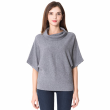 Top quality brand new 2017 half sleeve women sweater pullovers(China)