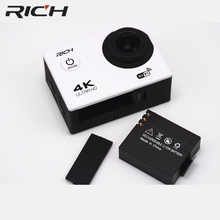 RICH FHD 1080P Action Digital Camera Waterproof Outdoor Sport WIFI Mini 4K Self Stick Video Photograph For Android ios(China)