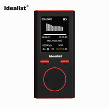 Idealist Hifi MP4 Player 8gb Build-in Speaker Mini Outdoor Sport MP3 MP4 FM Radio Music Digital Player E-Book Reading Walkman(China)