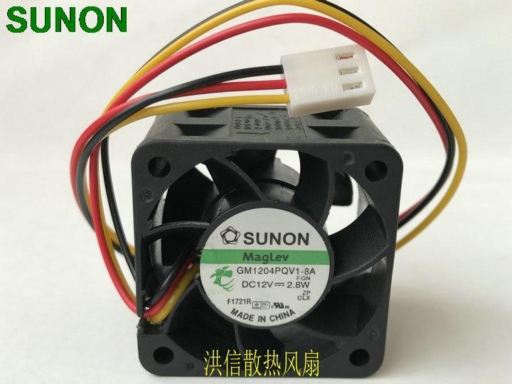 1 x DELTA FFB0412SHN 40x40x28mm 40mm 4028 DC 12V 0.6A Cooling Fan 3pin Connector