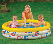 Intex Inflatable Child Pool Kids Float Inflatables Swimming Pool Frame Set Juegos Piscina Inflable Bathtub Filter Bath Mattress