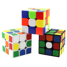 Educational Toys For Children Rubi Cube Classic Neodymium Cube Lot Magique New Year Children's Cubes 501294