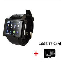 2017 AN1 Android 4.1 Smart Watch Cell Phone Dual Core 2.0 Inch Touch Screen Watch SIM Mobile Phone 2.0 MP WiFi FM GPS pk kw88(China)