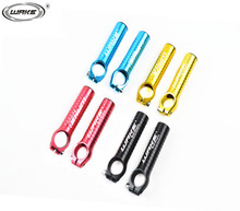 2015 WAKE  mountain road Bike Bicycle MTB Aluminum Handlebar Barend Bar End Bicycles Bar Ends Fixed Gear Parts Red, 4 Colors