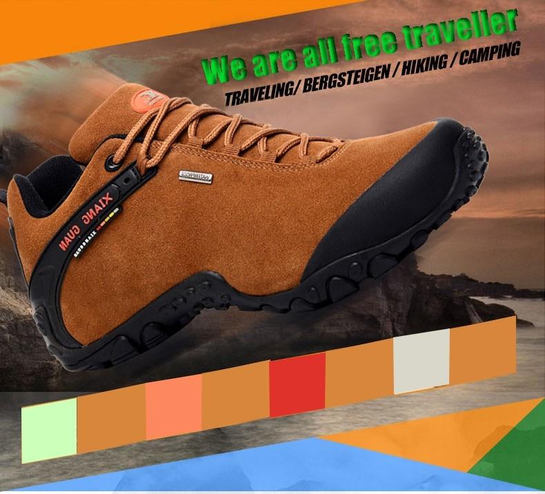 XIANG GUAN Winter Shoe Mens Sport Running Shoes Warm Outdoor Women Sneakers High Quality Zapatillas Waterproof Shoe81285 4