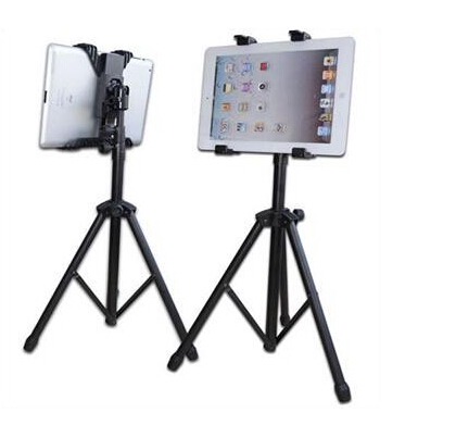 Cheap Sale! Foldable Tripod Adjustable Stand Holder Bracket Cradle for Tablet Free Shipping<br><br>Aliexpress