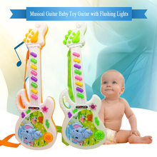 Musical Electronic Guitar Toy Instrument Toys Early Toddler For Baby Music Play