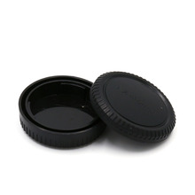 Free shippingRear Lens Cap Cover+Camera Body Cap for Fujifilm Fuji FX X Mount X-Pro 1 X-E1 X10 XF1 1pcs