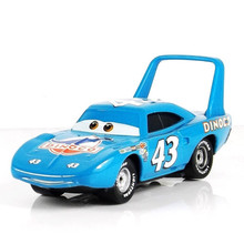 blue Cocky Pixar Cars Diecast No.43 Race Team The King Metal Toy Car 1:55 jugetes trenes tomy toy model cars toys for children