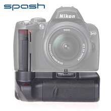 spash Multi-power Vertical Battery Grip for Nikon D60 D40 D40X D3000 D5000 Work with EN-EL9 Professional Battery Holder(China)