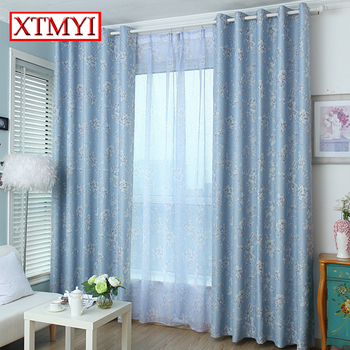 Modern Curtains for the Bedroom Blackout Curtains for Living Room  Gray  green embroidered sheer curtains fabric blinds drapes
