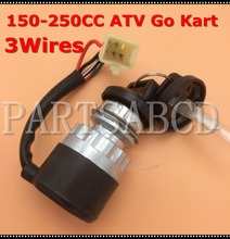 3 wires Ignition key switch waterproof 150cc 250cc go kart ATV Quad(China)