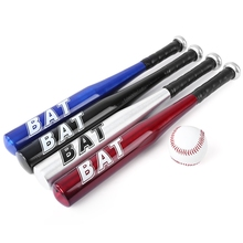 20 inch 53cm Aluminium Alloy Outdoor Soft Baseball Bat Of The Bit Racket Softball Bat For Exercise Match New Year Xmas Gift 2017(China)