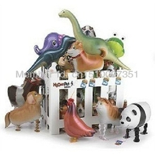 600pcs/Lot, Wholesale. Pet Walking Animals Balloons,  Helium Balloons, Baby's toy, Party Decoration. Gift.
