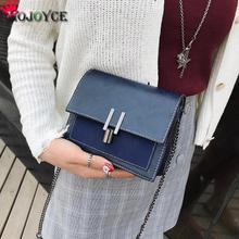 Buy 2018 New Simple Vintage Women Chain Crossbody Bags PU Leather Shoulder Messenger Handbags Retro Casual Flap Blue Red Brown Black for $7.38 in AliExpress store