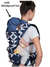 Promotion! Front Facing Baby Carrier Infant Comfortable Sling Backpack Pouch Wrap Baby Kangaroo(China)